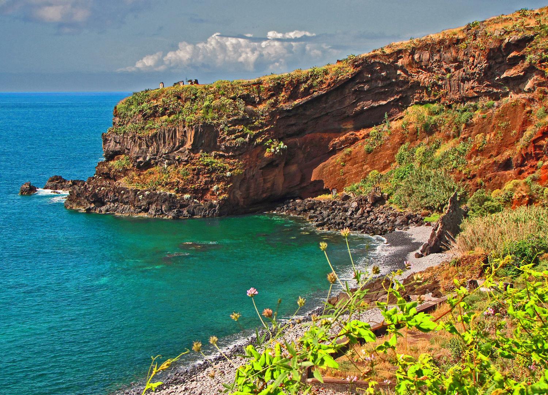 Bucht auf Madeira