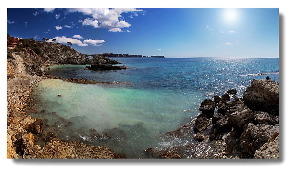 Bucht bei Paguera