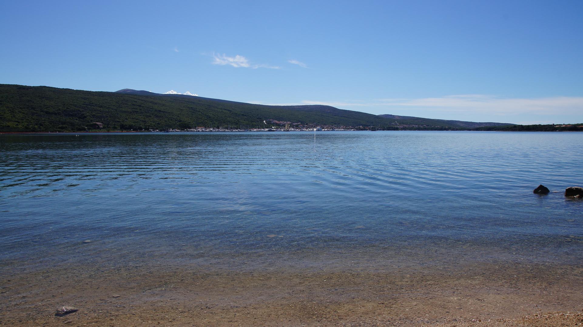 Bucht bei Punat auf der Insel Krk