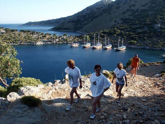 Bucht der türkischen Ägäis
