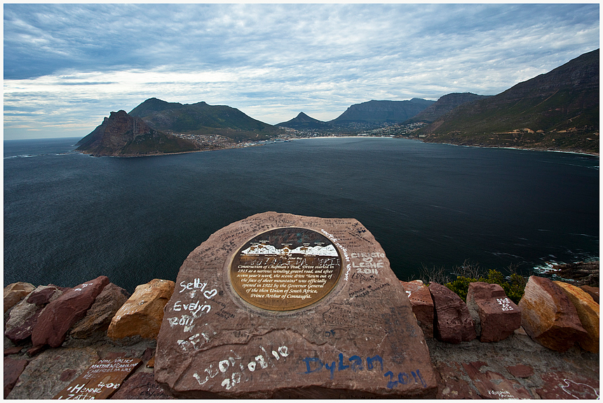 Bucht in Südafrika