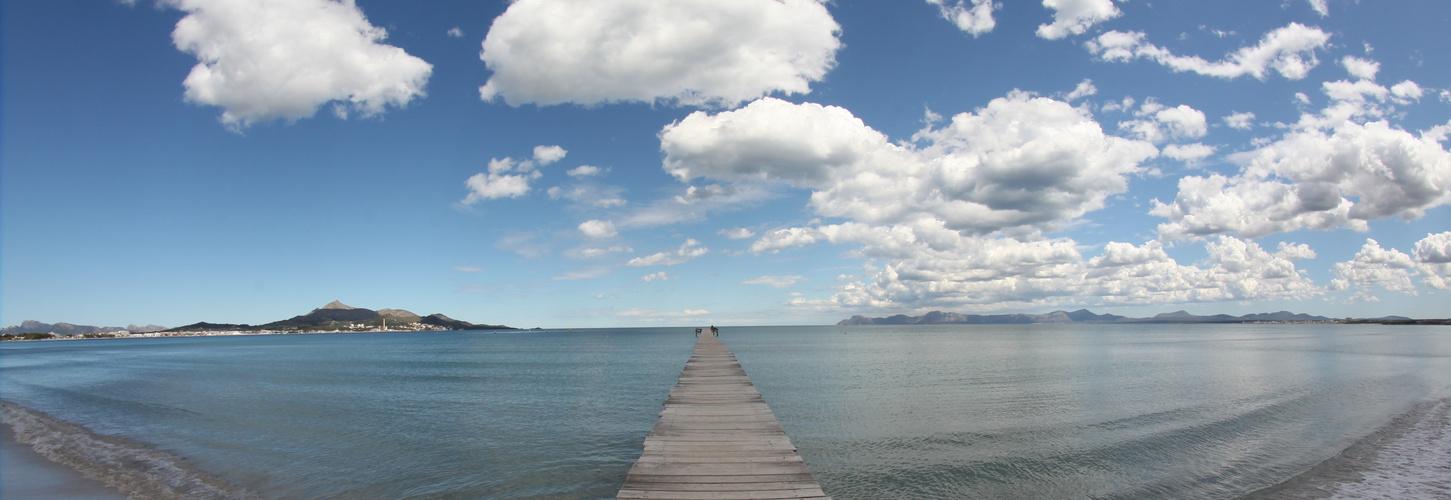 Bucht von Alcudia (180 Grad)