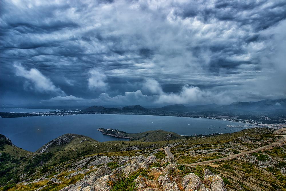 Bucht von Alcudia - farbig