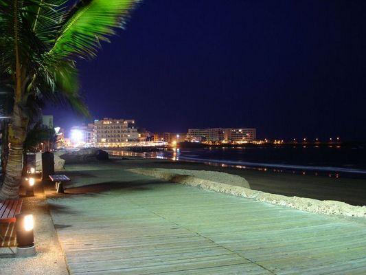 Bucht von El Medano auf Teneriffa