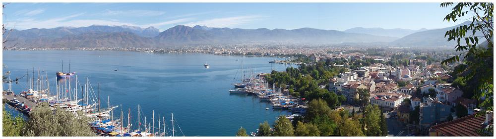 Bucht von Fethiye - Südwesttürkei
