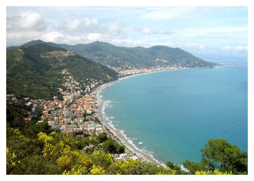 Bucht von Laigueglia und Alassio