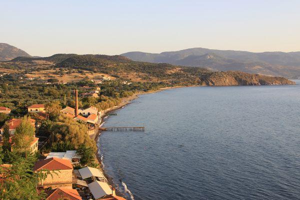 Bucht von Molivos / Lesvos / Griechenland