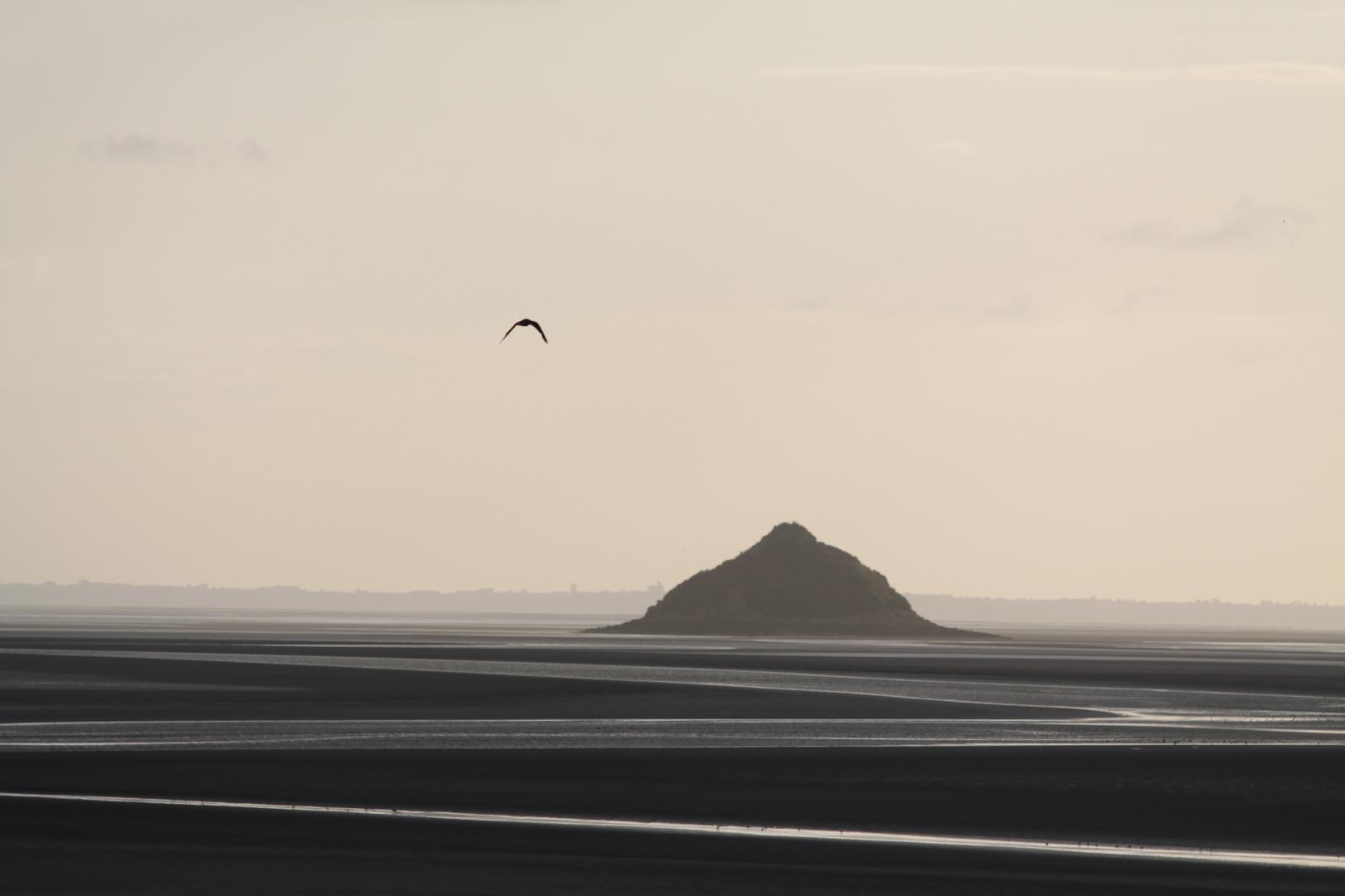 Bucht von Mont St. Michel