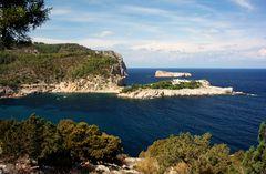 Bucht von Port de Sant Miquel auf Ibiza