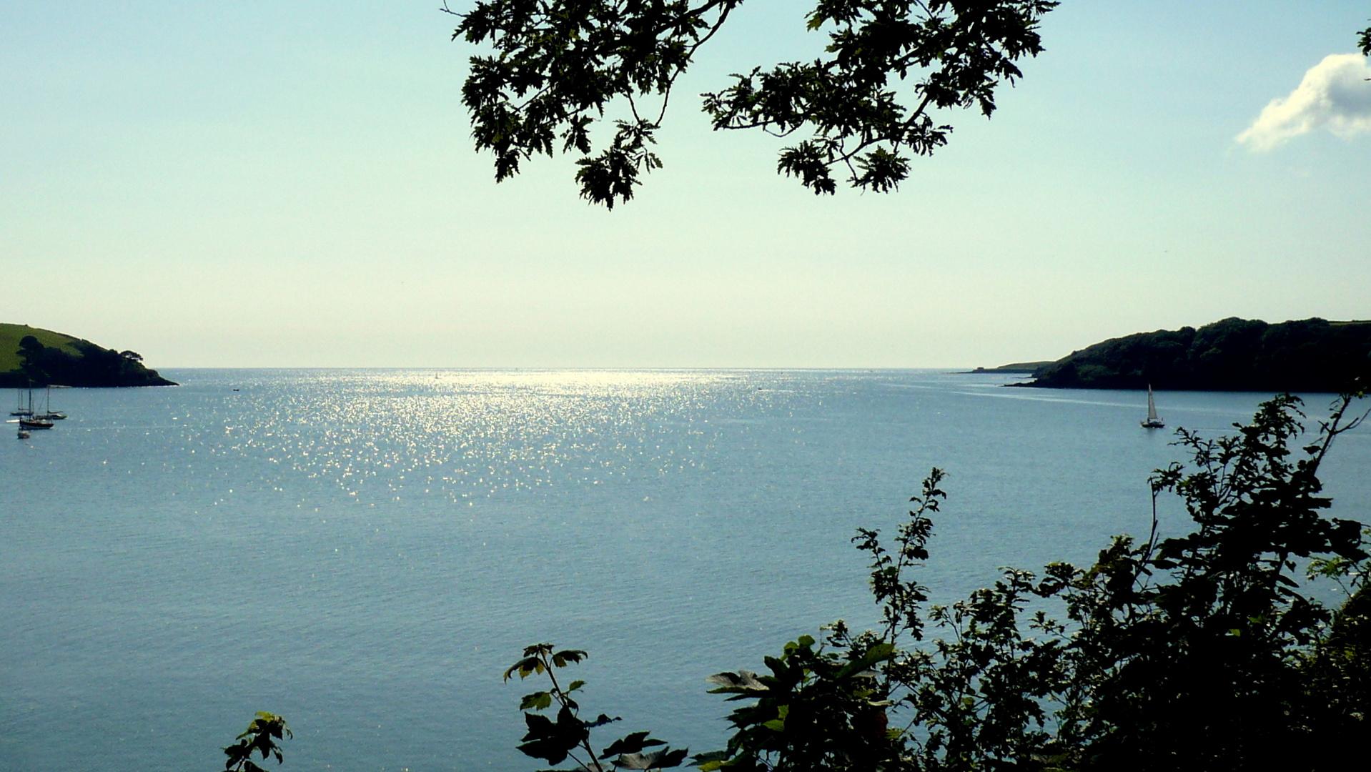 Bucht vor Cornwall