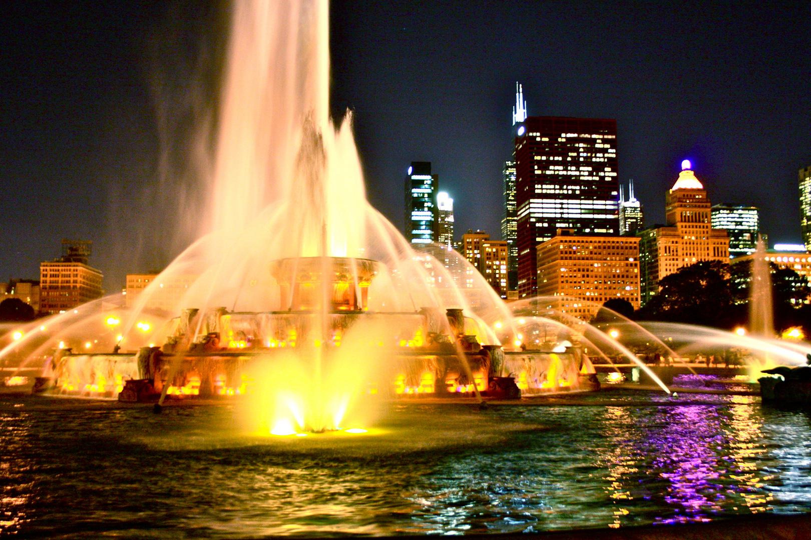 Buckingham Fountain in summer 2012