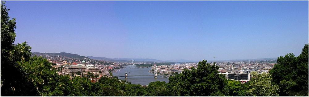 Buda + Pest = Budapest