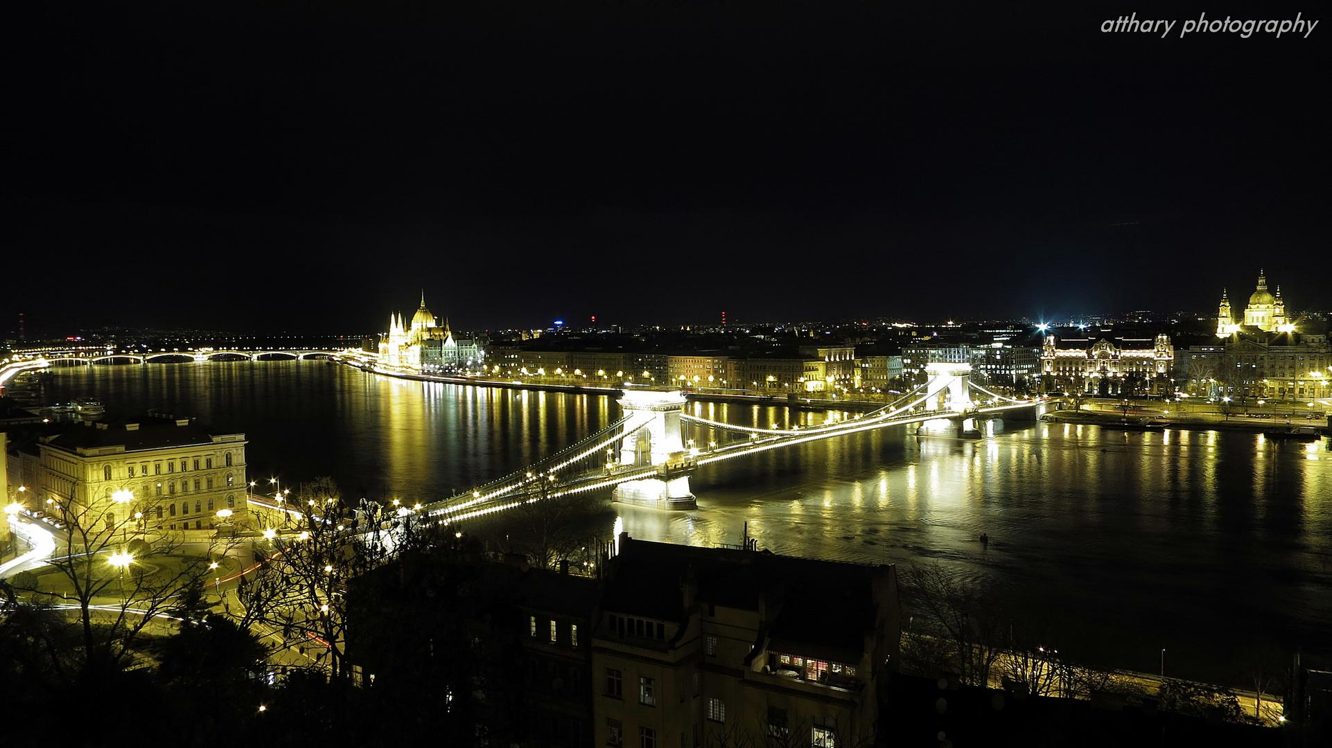 Budapest aus der Vogelperspektive