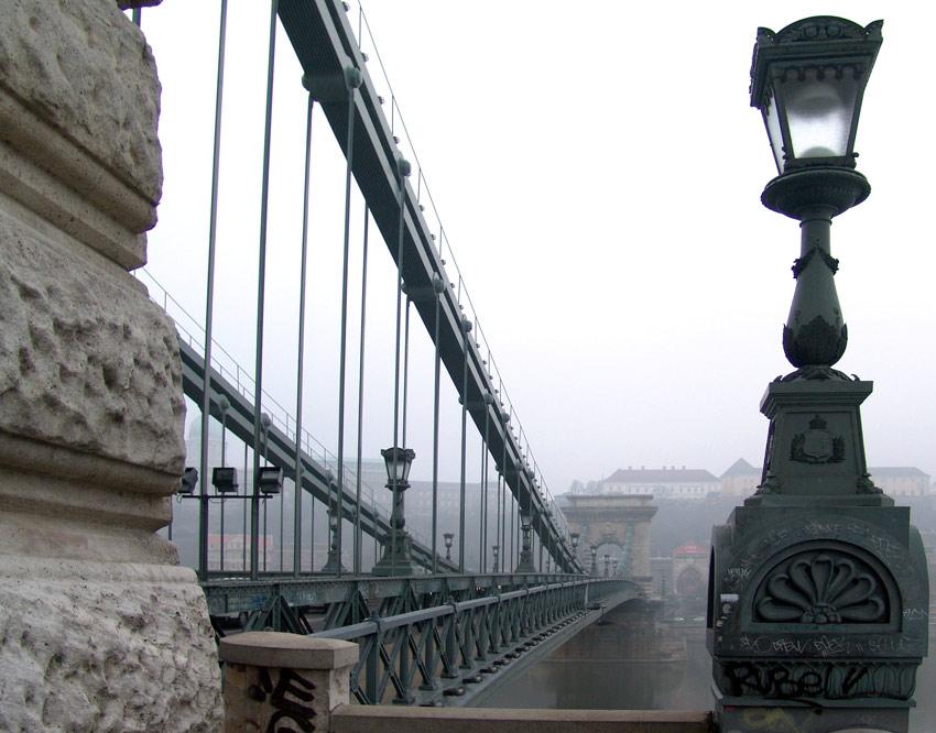 Budapest - Die Kettenbrücke