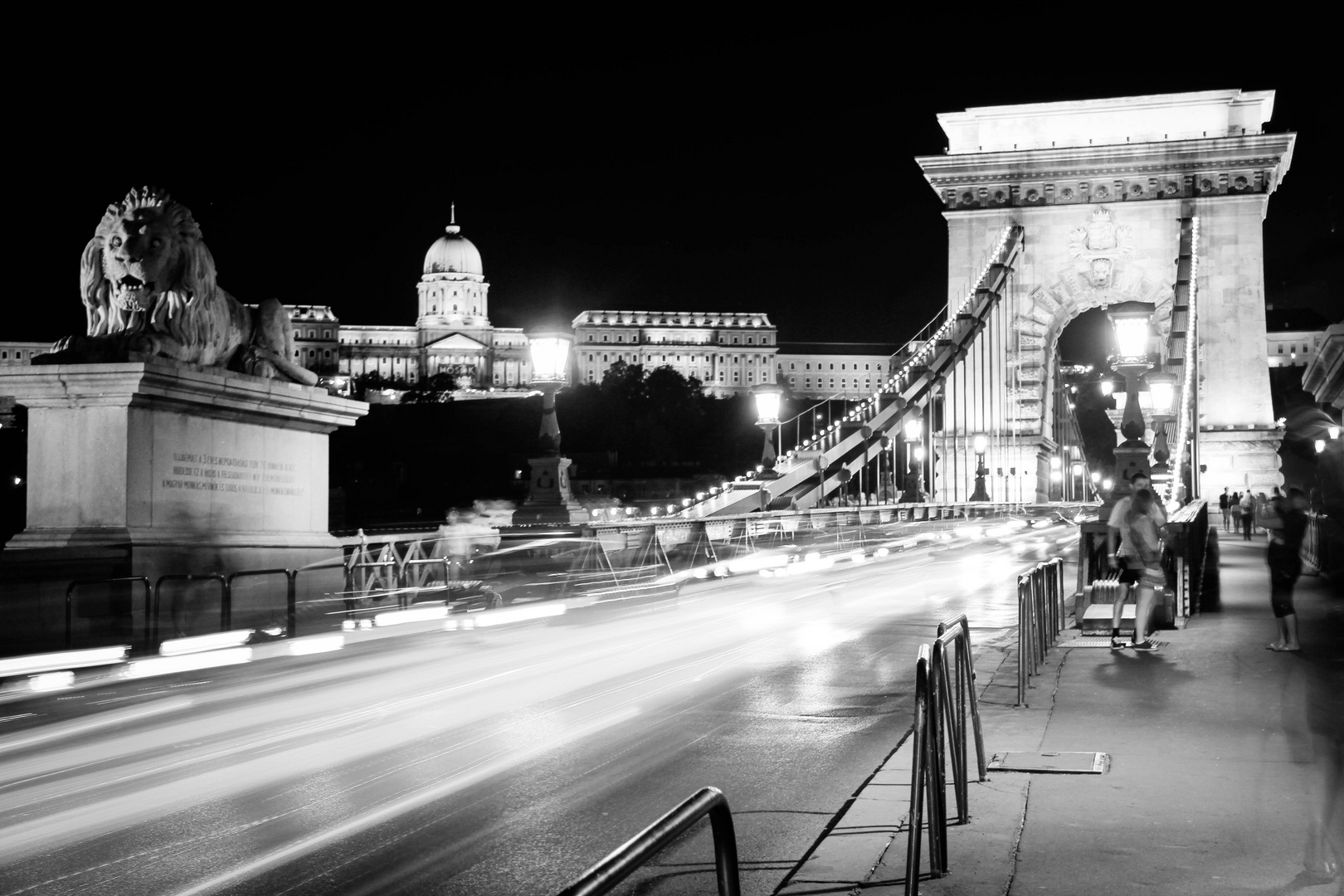 Budapest in BW