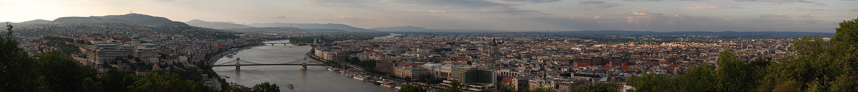 Budapest in der Abendsonne