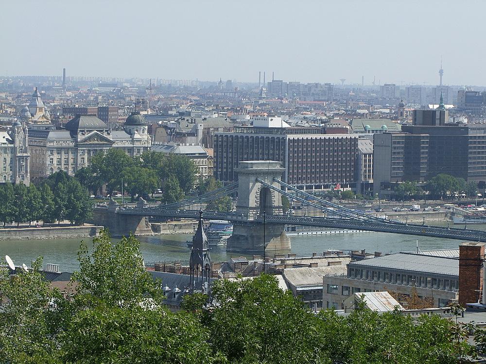 Budapest, Kettenbrücke....