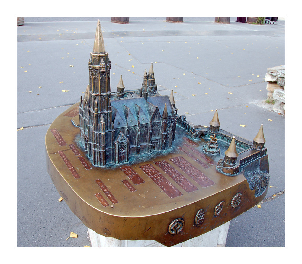 Budapest: Matthiaskirche en miniature