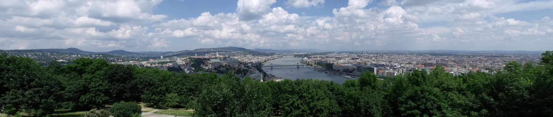 Budapest von Oben ....