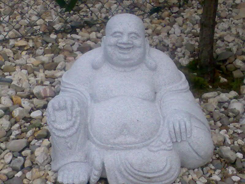 Budda beim Nachbarn