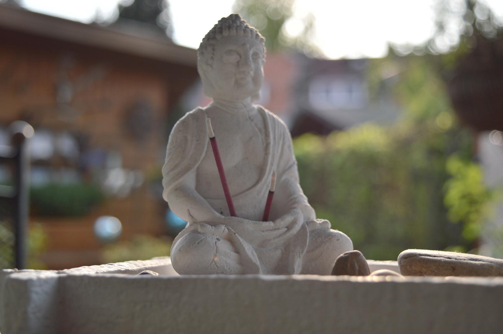 Buddah Unschärfe