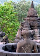 buddha à borobudur