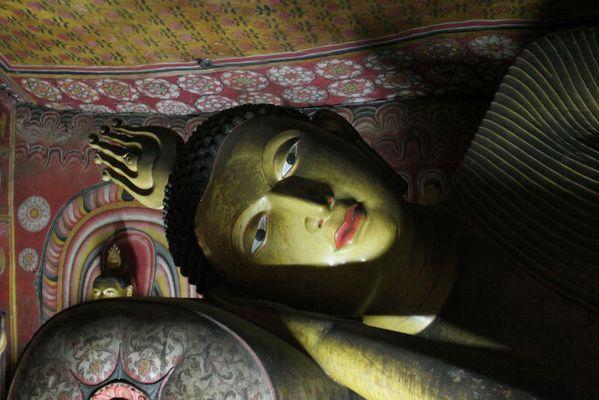 Buddha - Höhlentempel in Dambulla - Sri Lanka