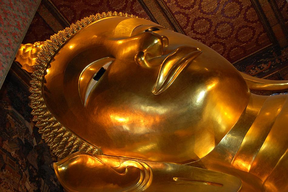 Buddha im Königspalast Bankgok