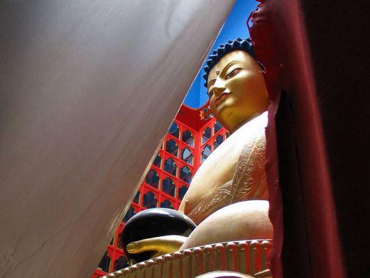 Buddha im Tempel