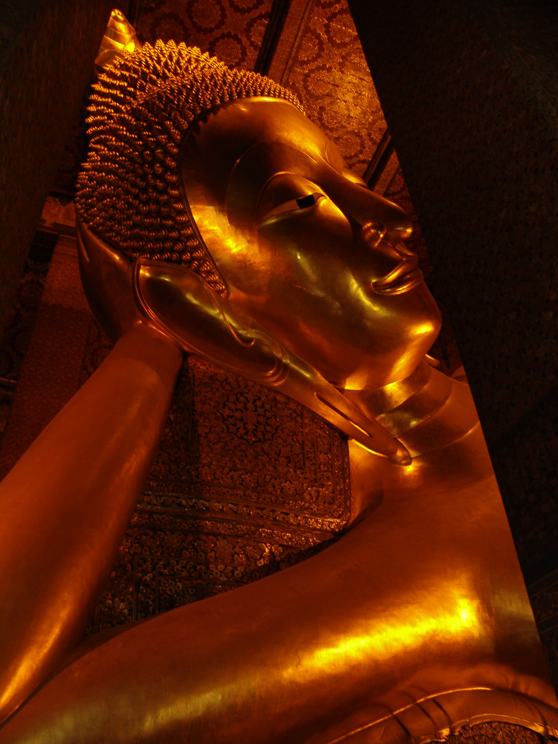 Buddha in Bangkok Kings Palace Temple