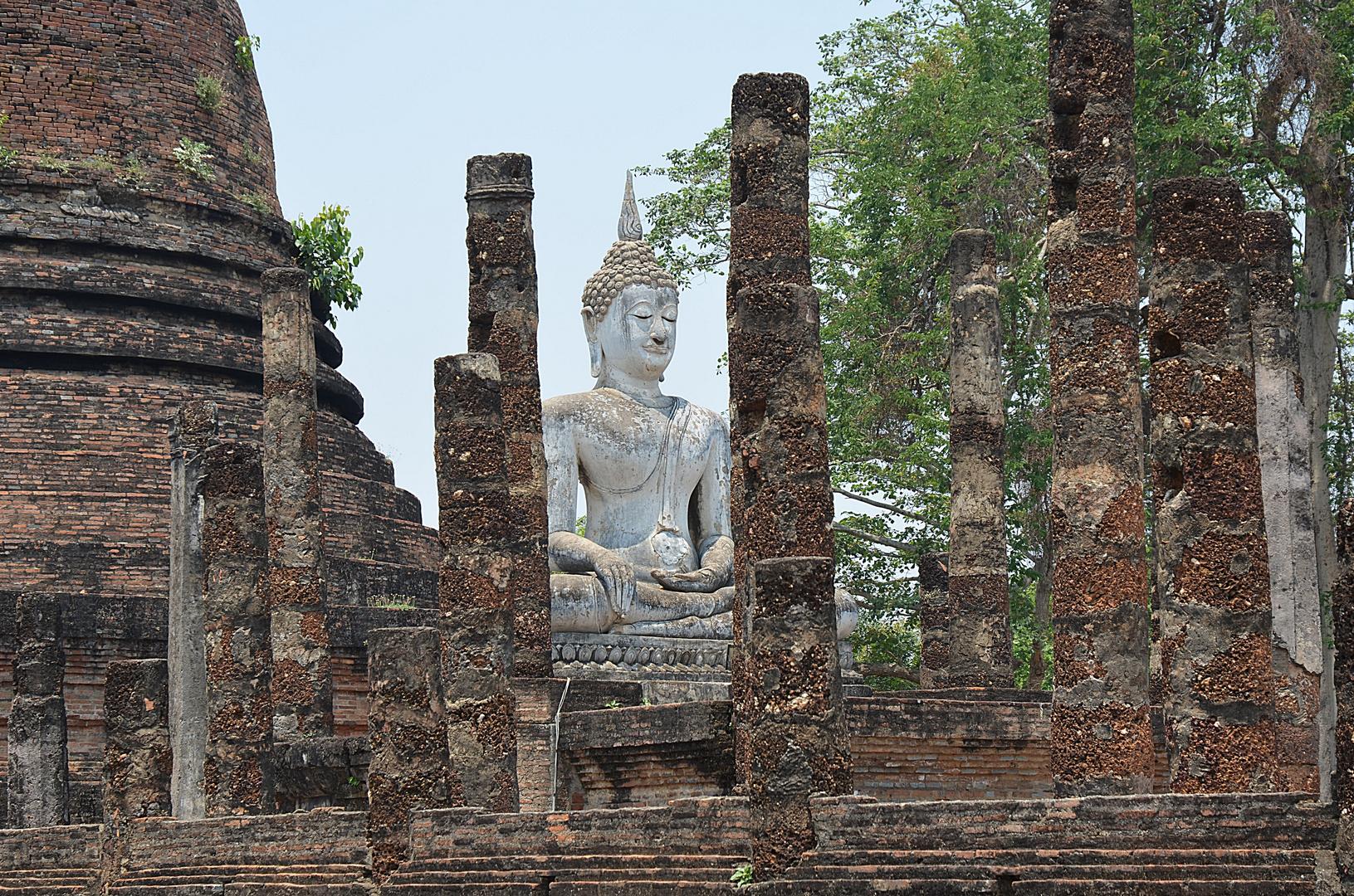 Buddha in Wat Sa Si