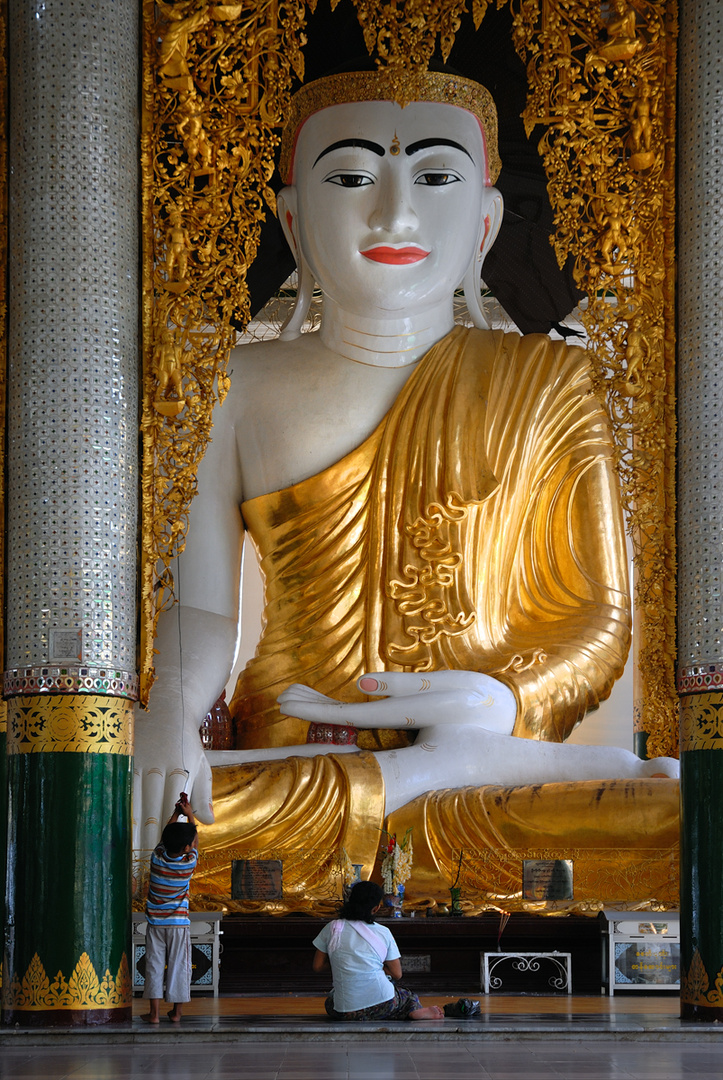 Buddha is watching every where