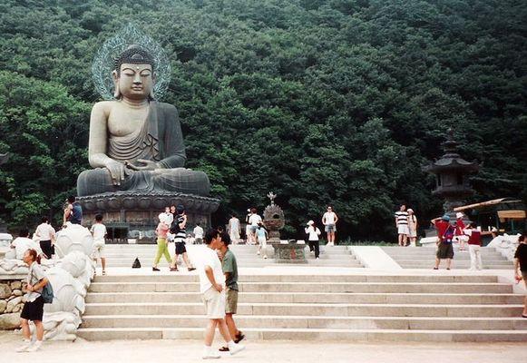 Buddha - Statue im Sorak-Gebirge