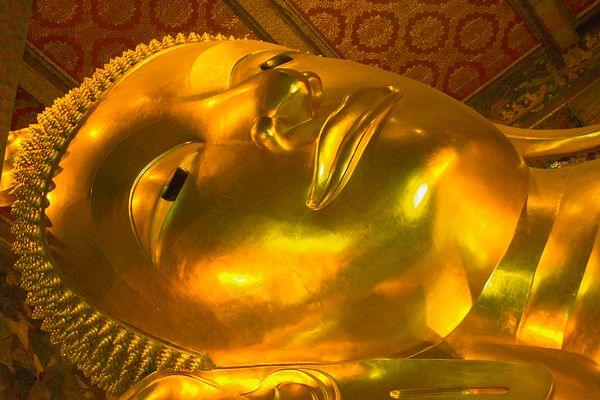Buddha-Statue im Wat Pho