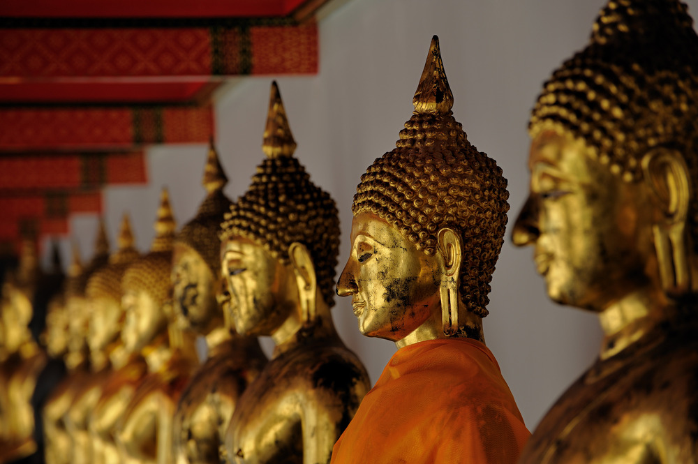 Buddha Statues in Wat Po