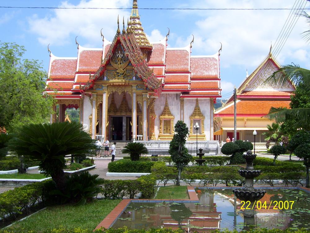 Buddha Tempel auf Phuket