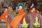 buddha und die fünf, cambodia 2010