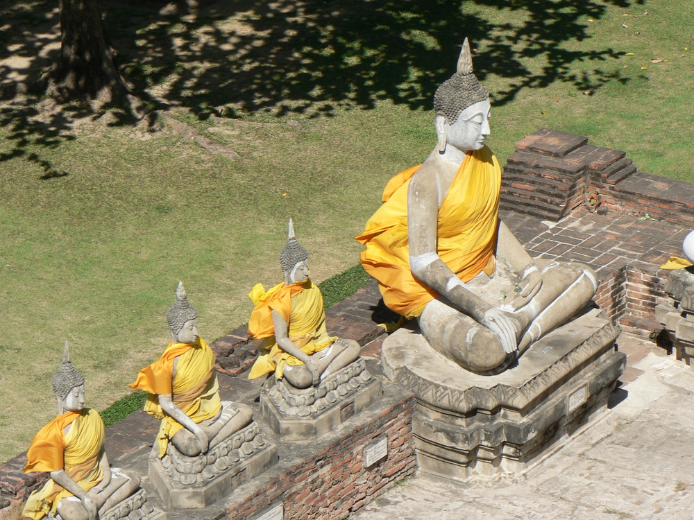 Buddha with Brothers