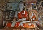buddhaheiligtum am geisterberg, burma 2011