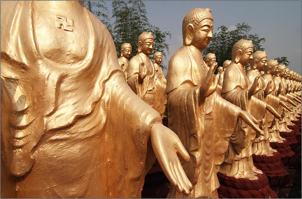 buddhas erste mönche