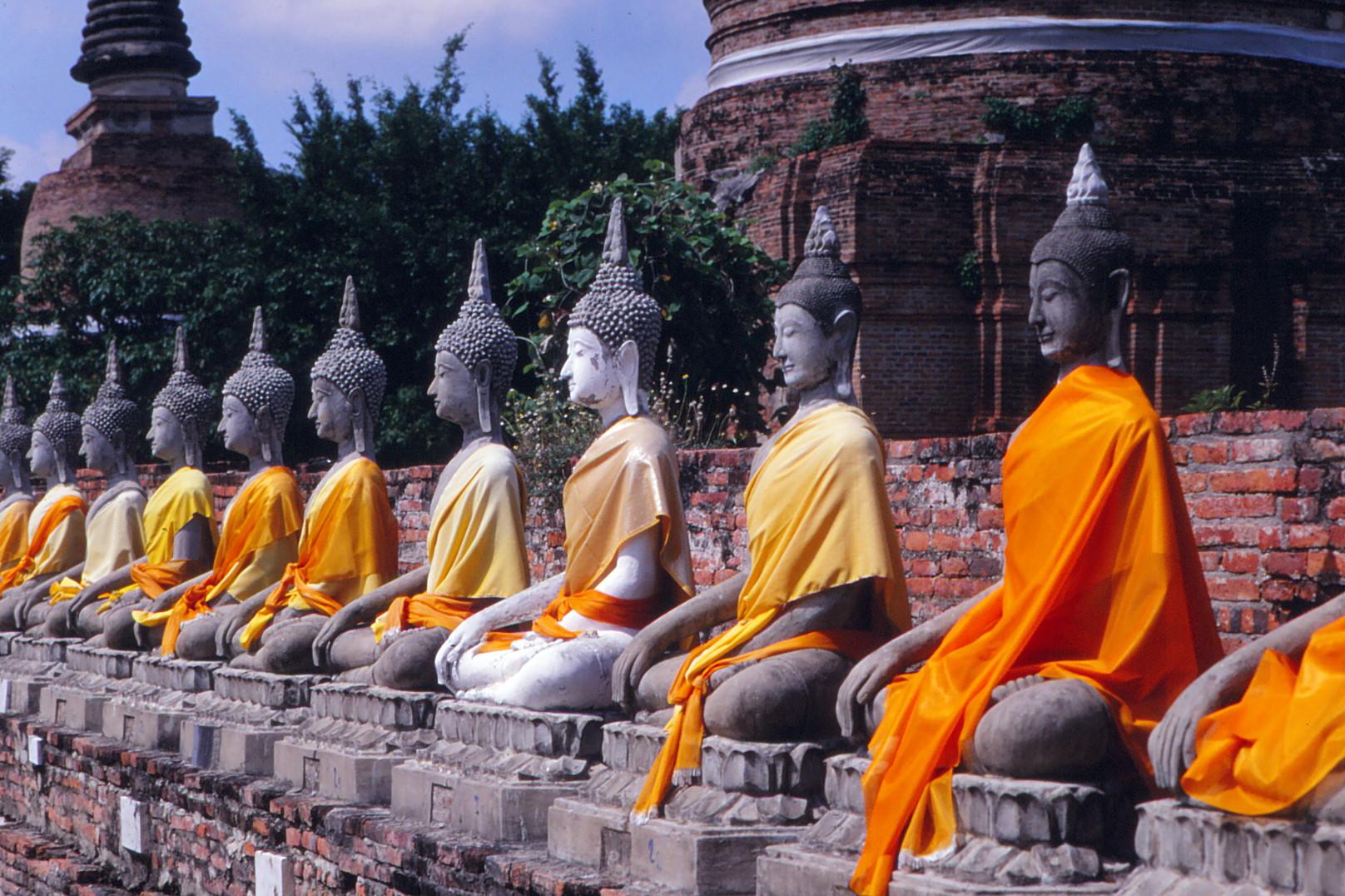 buddhas in Thailand