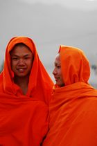 Buddhist Monks,North Laos