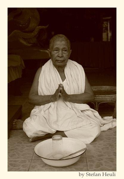 Buddhistische Nonne - Thailand