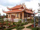 Buddhistischer Tempel in der Provinz Lam Dong
