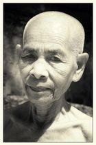 Buddistische Nonne