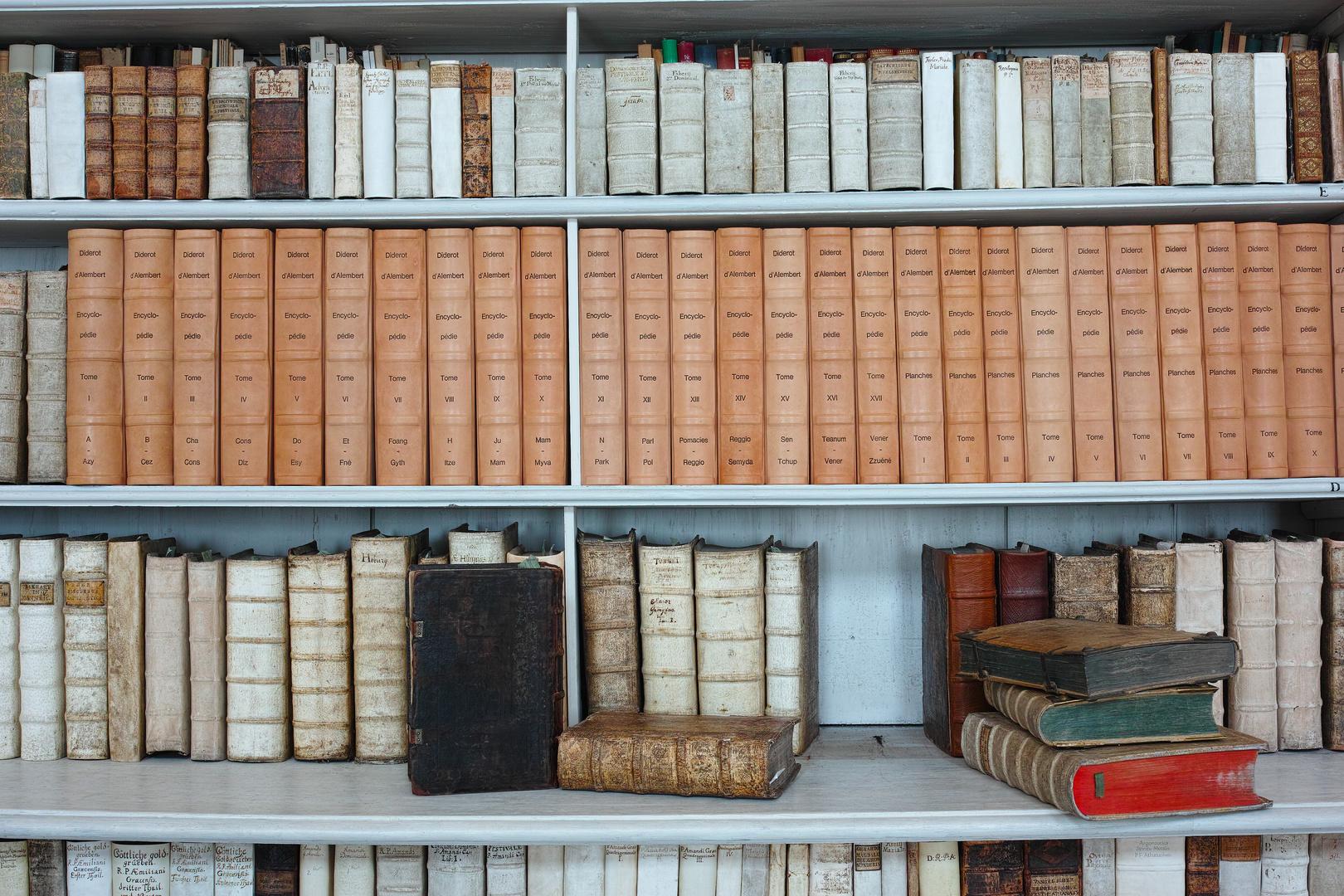 Bücher der Stiftsbibliothek Admont
