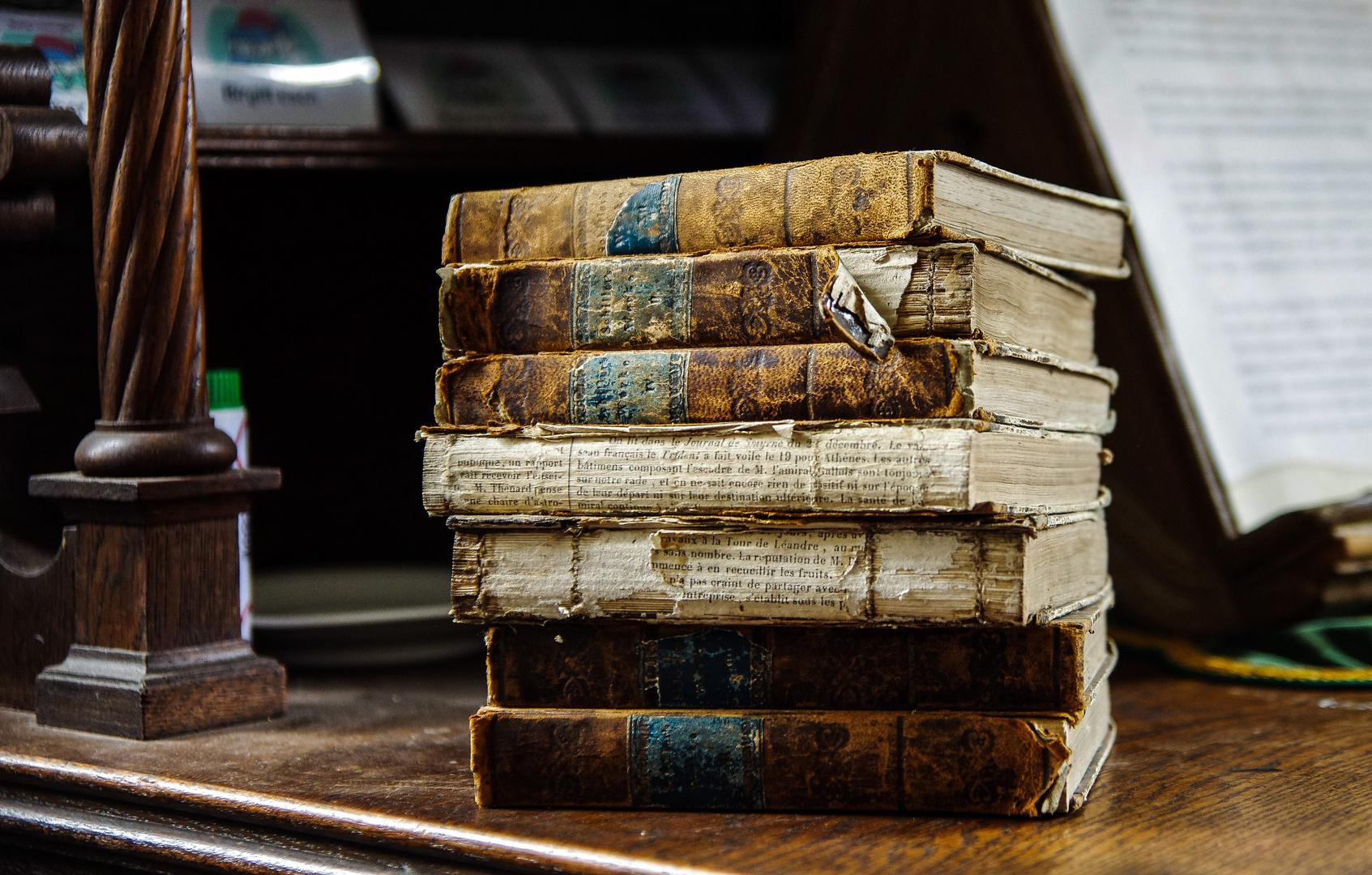 Bücher in Burg Lissingen