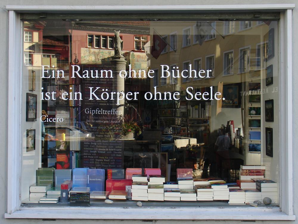 Bücher-Raumspiegelung
