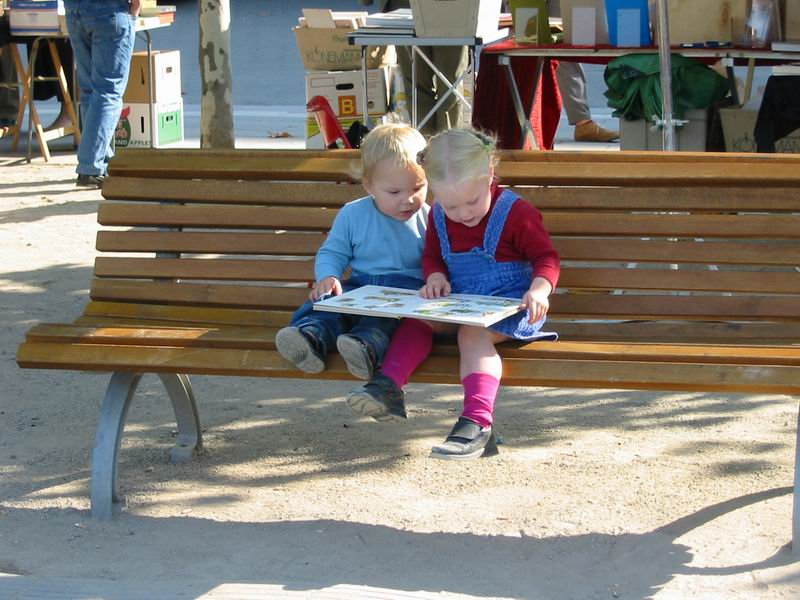 Bücherflohmarkt 2003 Düsseldorf