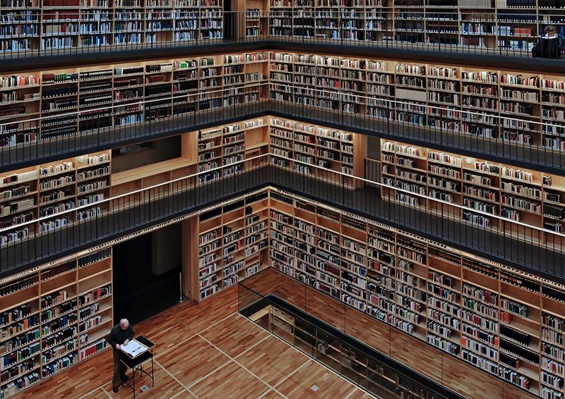 Bücherkubus